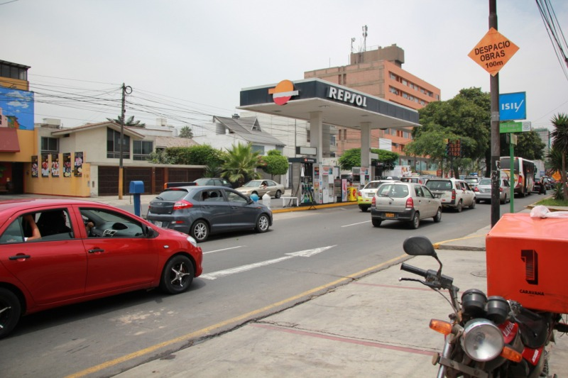gas station in Lima