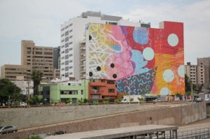 a colorful house in Lima
