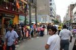 Street vendors in Gamarra