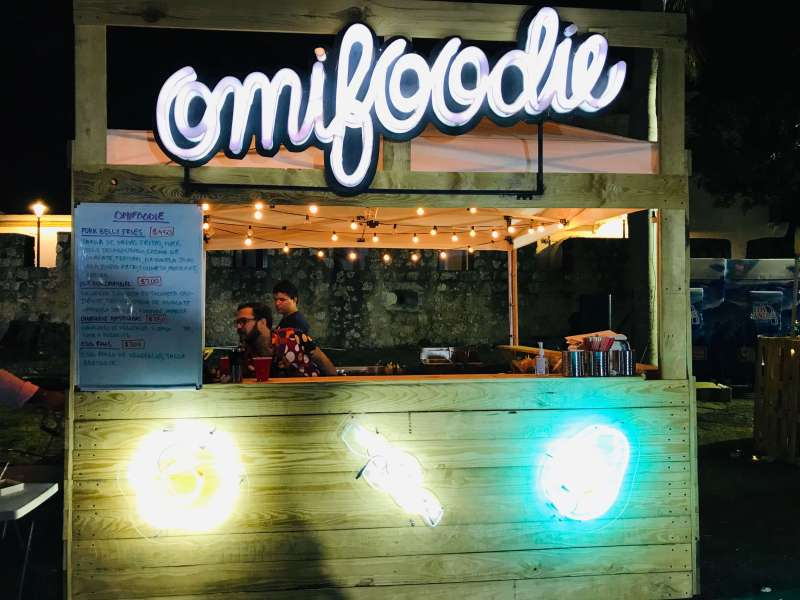 Omnifoodie food stand @Zoneo Fest 2019