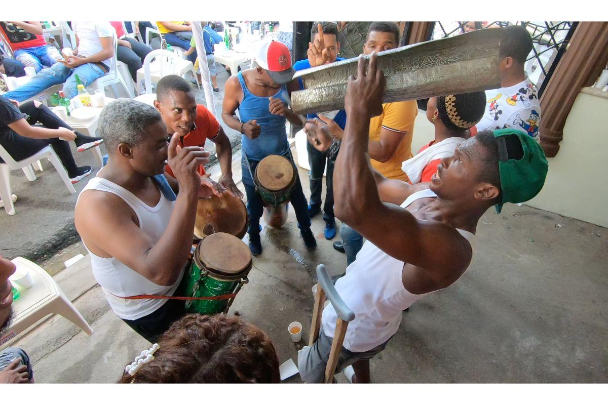 Fiesta de Palos en la República Dominicana