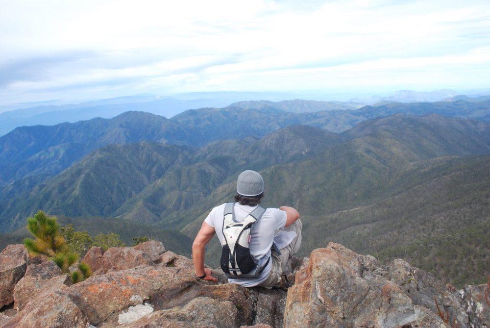 View from Pico Duarte (10,164 feet - 3.098 m)