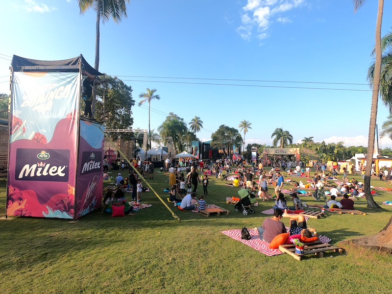 Santo Domingo Pop 2020 - Picknick zone