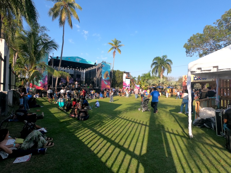 Chill Area at the festival 'Santo Domingo Pop 2020'