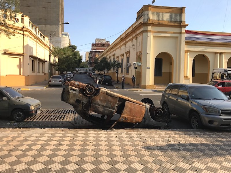 Riots in Paraguay