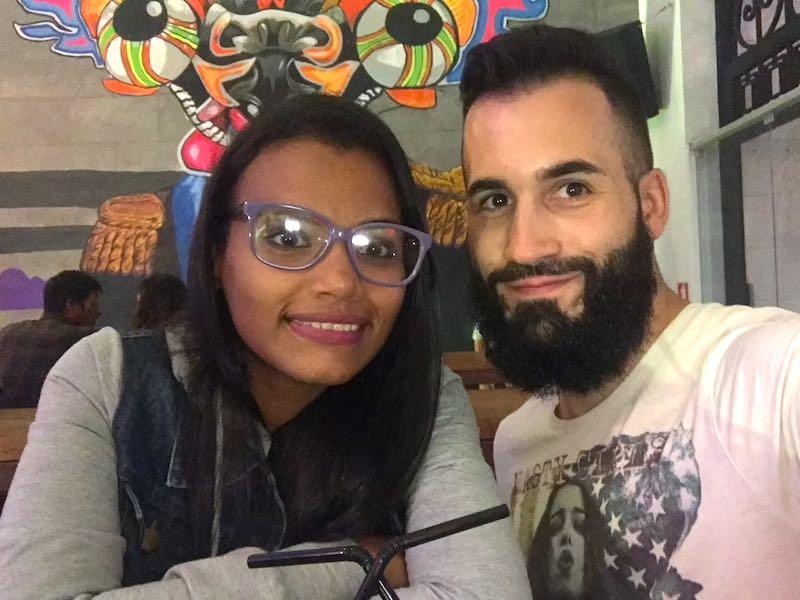 Chica venezolana en Lima