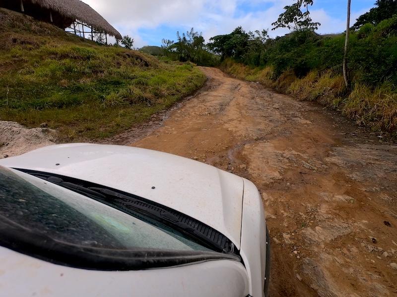 Montaña Redonda en la República Dominicana