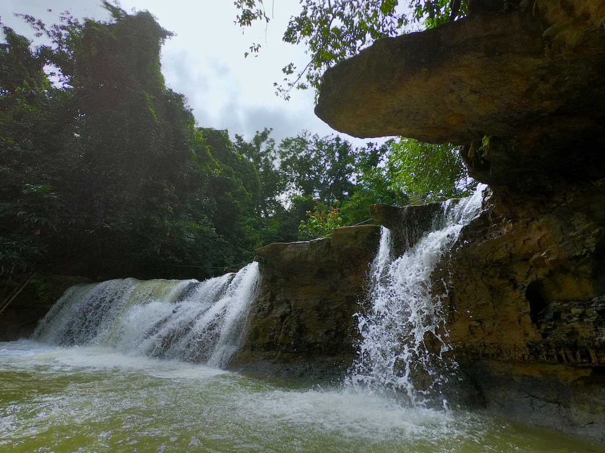 Salto de Yanigua in the Dominican Republic