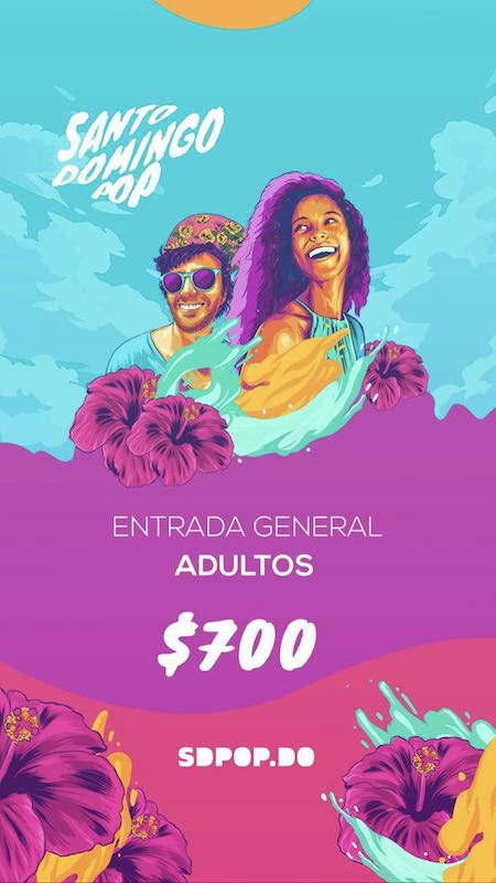 (Santo Domingo Pop tickets)