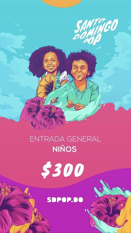 (Santo Domingo Pop tickets)