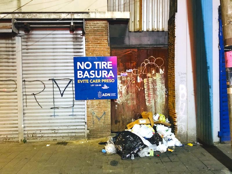 trash problem in Santo Domingo