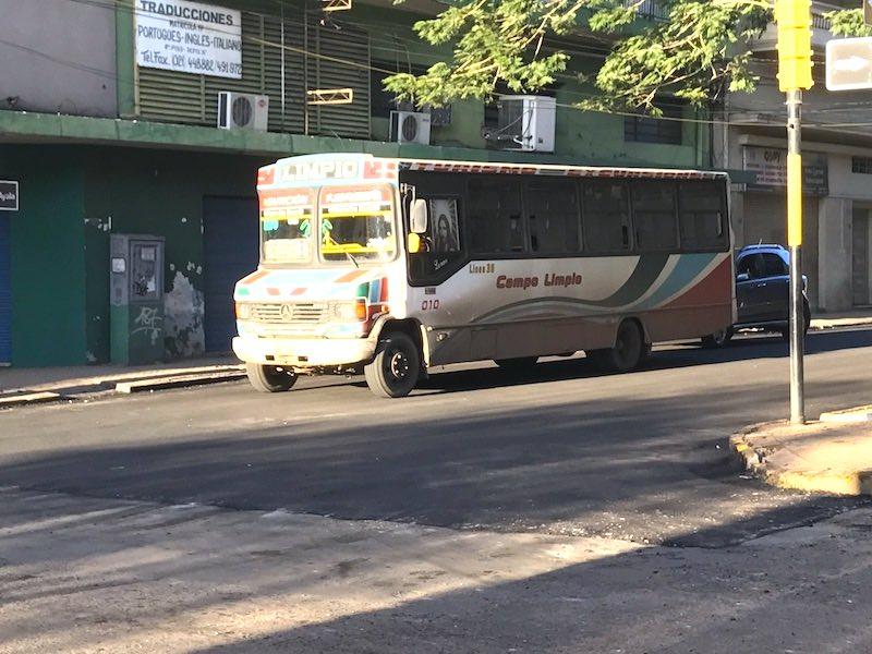 VW bus Asunción
