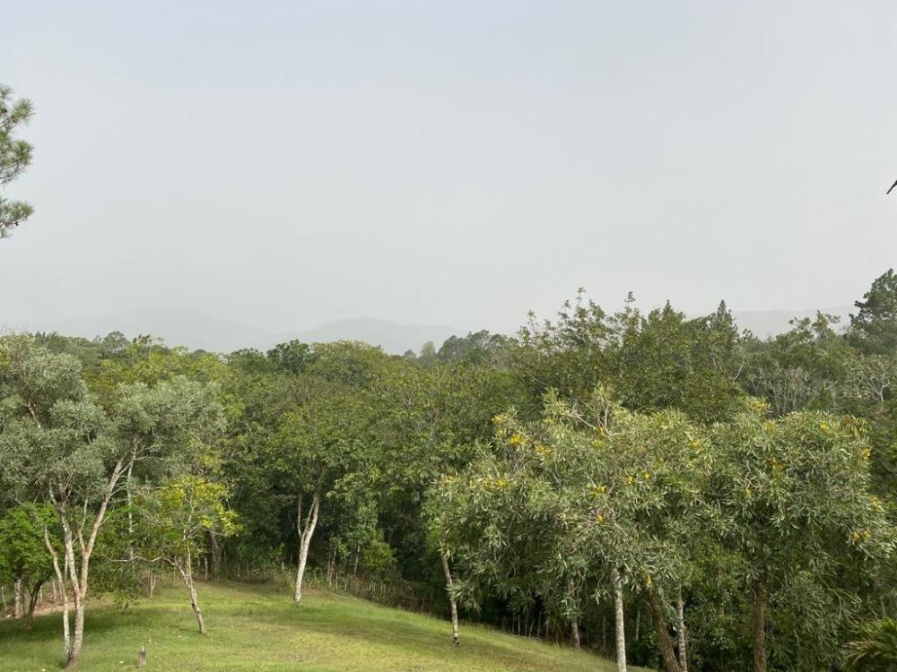 Jarabacoa under the influence of Sahara dust in the Caribbean.