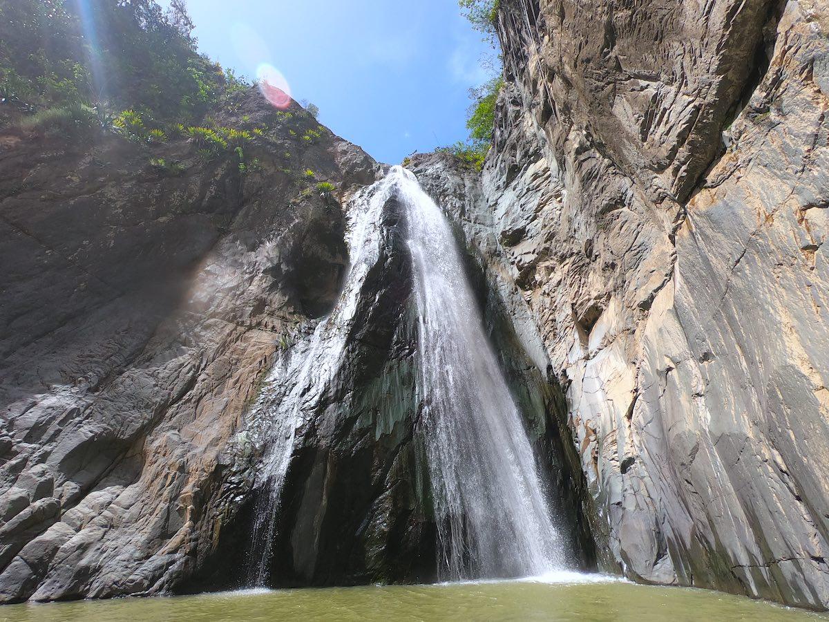 Salto Jimenoa 2 in Jarabacoa
