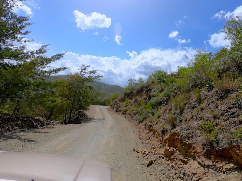 Carretera Constanza - Guayabal