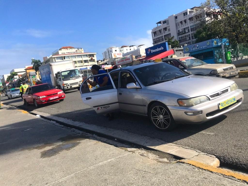Carro Publico in the Dominican Republic